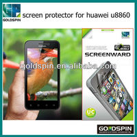Manufacturer! Perfect Fit Clear Matte Phone Screen Protector For Huawei U8860 Screen Film