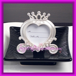 Wedding Table Decoration Heart Shaped Wedding Coach Photo Frame and Place Card Holder