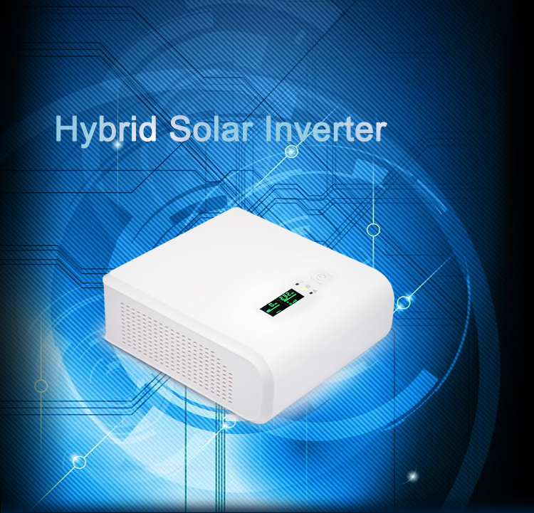 Hybrid Inverter with Solar charger 1k 2k 12v 24v