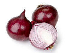Fresh Yellow and Red onions