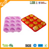 Professional Grade Highly Versatile Multi-purpose Silicone Muffin Pan and Cupcake Maker 12 Cup