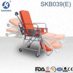 HOT!!! SKB039(E) best selling stretcher trolley for ambulance