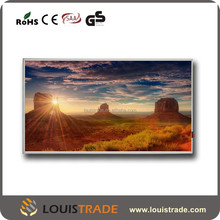 corative modern electric colored wall IR panel for heating B-P4(2076)