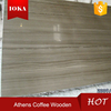 Athens coffee wooden marble slabs 2cm