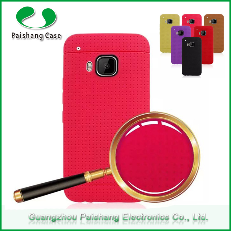 Alibaba wholesale soft honeycomb sublimation tpu case for HTC One M9