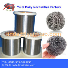 410 stainless steel ball cleaning wire