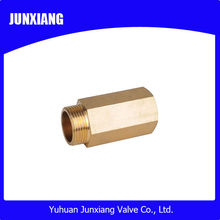 Brass end feed fittings for copper pipe