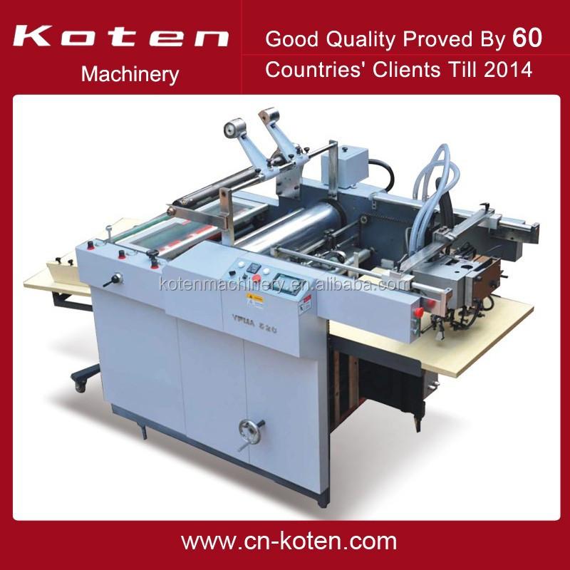 automatic laminating machine