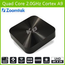 wholesale android smart tv set top box zoomtak K8 private case android tv box xxxl sexy movis