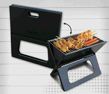 X style charcoal BBQ grill X shape foldable BBQ grill for easy carrying