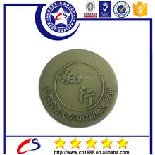 2015 unique old silver coin with custom design logo