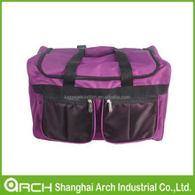 polyester travel luggage bags duffle bags