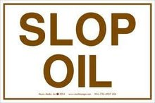 Slop Oil / Waste Petroleum Oil