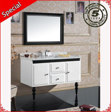 Free standing baking finish cheap bathroom mirror cabinet wooden bathroom vanity- bath pro BP-1068