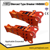 building renovation ISO9001/CE/UL high quality korean Soosan box/silence type percussion hammer