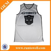 Wholesale blank latest basketball jersey design