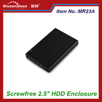 Easy Carry 2.5'' Hard Disk Drive Enclosure Support USB3.0 Screwless HDD External Caddy