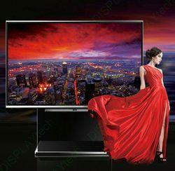 LED TV solar power advertising display