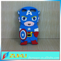 China factory Hot selling cute spiderman 3D super hero design cases for ipod touch 5