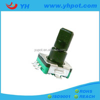 YH EC11mm low cost 20 pulse 20 position mini rotary video ip encoder decoder