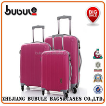 BUBULE 2015 New design colorful printed hard luggage eminent hard luggage