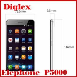 New Elephone P5000 Mtk6592 Octa Core 2GB Ram 16GB Rom NFC 5350mAh Battery 3G WCDMA Android 4.4 Mobile Phone