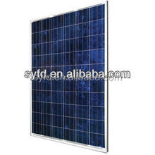 1640*992*40mm High efficiency poly 230W/235W240W/250W 24V Solar panel(TUV,ISO,MCS)