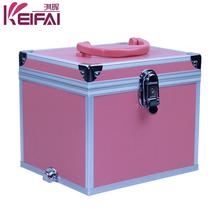 Popular 2015 Hot Sell Custom Pink Portable Pvc Jewelry Case