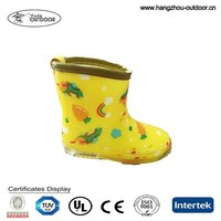 Soft Lower Price Kid PVC Rain Shoes Exporter,Colorful Girls Non-slip PVC Shoes For Rainy Day,Comfortable Waterproof OEM PVC Boot