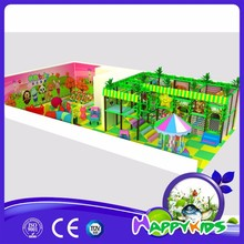 Newest indoor soft play equipment jungle theme, kids playground indoor for sale
