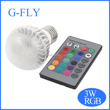 16 Colors Light 24key IR Remote Controller Lamp