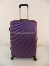 ABS+PC 3 pcs set eminent hard recycled pc abs hard plastic suitcase trolley school bags suitcase set