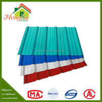 Top selling fire resistance 2 layer house roof cover materials
