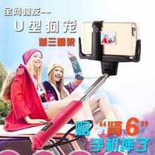 For traveling/wedding/video monopod selfie stick monopod selfie stick handle holder
