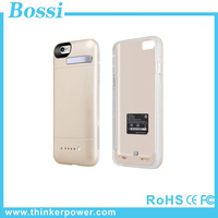 Hot New Product 2015 Portable Power Bank Case 4800mAh Ultra Slim Power Case for iphone 6 plus Laptop Battery Case