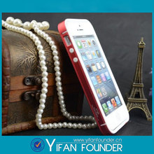 New product silicon metal case bumper for iphone 5g 5s