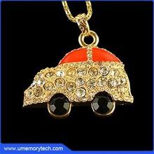 Jewelry car usb stick car shaped usb drive car shape usb memory stick