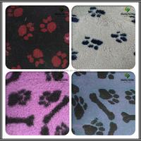 Wholesales Paw Print Design Vet Bedding/Non Slip Vet Bedding/Active Non Slip Vet Bedding Paws