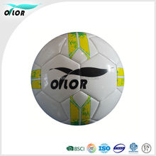 OTLOR Official Size 5 Yellow /Blue/ White soccer ball cheap price factory supply customize your own soccer ball
