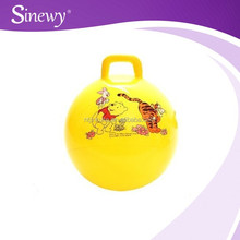Round handle toy exercise hopping ball for children