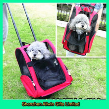 High quality customized trolley pet carrier