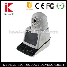 720P I.3M IP Video Phone Home Security Camera Mobile view Alarm P2P WIFI IR Audio
