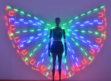 LED Belly Dance Wings / Remote Control Butteryfly Wings for Stage Performance
