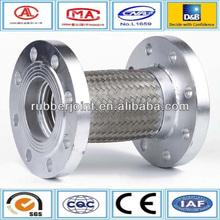 Stainless steel braid metal metallic bellows expansion joint