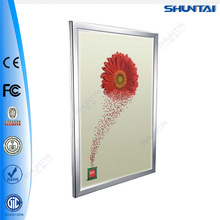 Single sided slim led a3 poster flip frame for advertisement