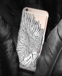 luxury fashion design Angle Wing sublimation phone case