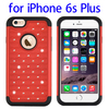 Factory price Silicone + PC Combination Case for iPhone 6s plus Starry pattern