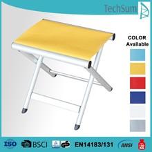 Aluminum leisure step stools folding stool aluminum leisure stool, both for indoor and outdoor application