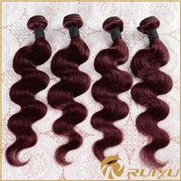 Hotsale 100% virgin remy peruvian body wave wavy hair wefts