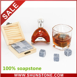 Ideal Gift Whiskey Ice Stones for Friends | Business Stone Gift | Sipping Ice Stone